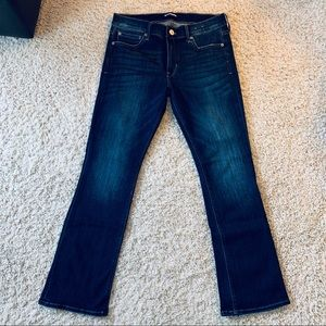 Express Mid Rise Barely Boot Jeans